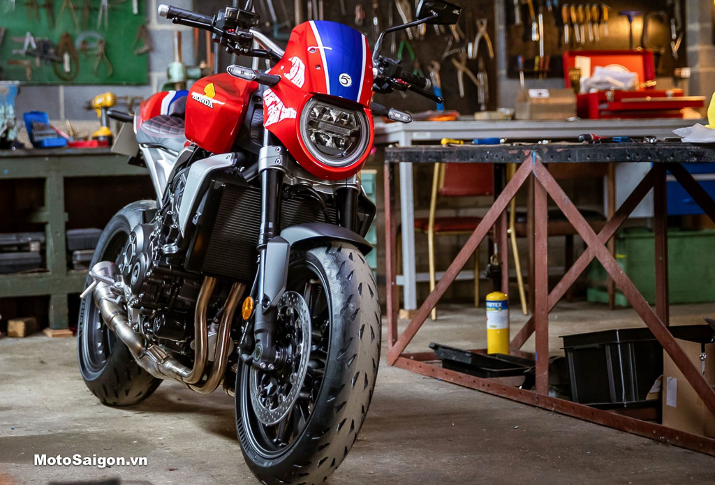 Honda CB1000R 5Four 2021 phiên bản đặc biệt do Guy Wilson độ với số lượng giới hạn