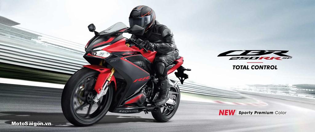 Honda CBR250RR 2022 phiên bản SP Total Control có sẵn Quickshift