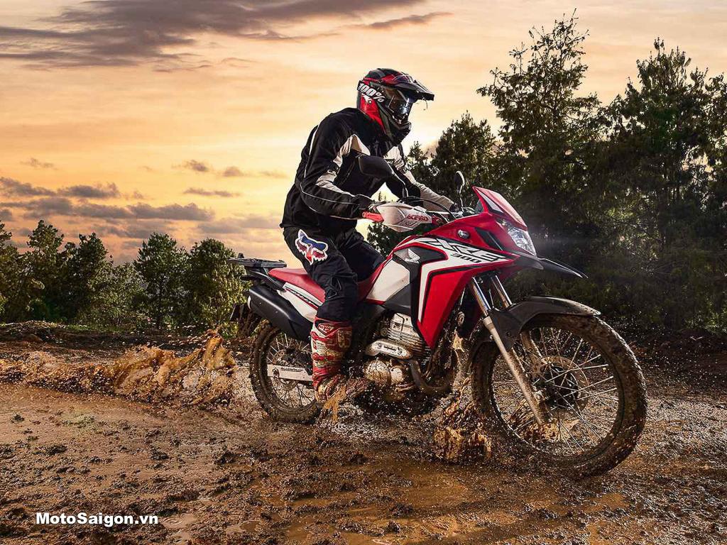 Honda XRE300 biến thể lạ mắt của CRF300L dành cho dân mê xê dịch