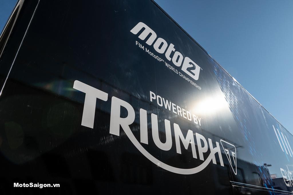 Giải đua Moto2 và Triumph Motorcycles tiếp tục hợp tác trong 03 năm tới