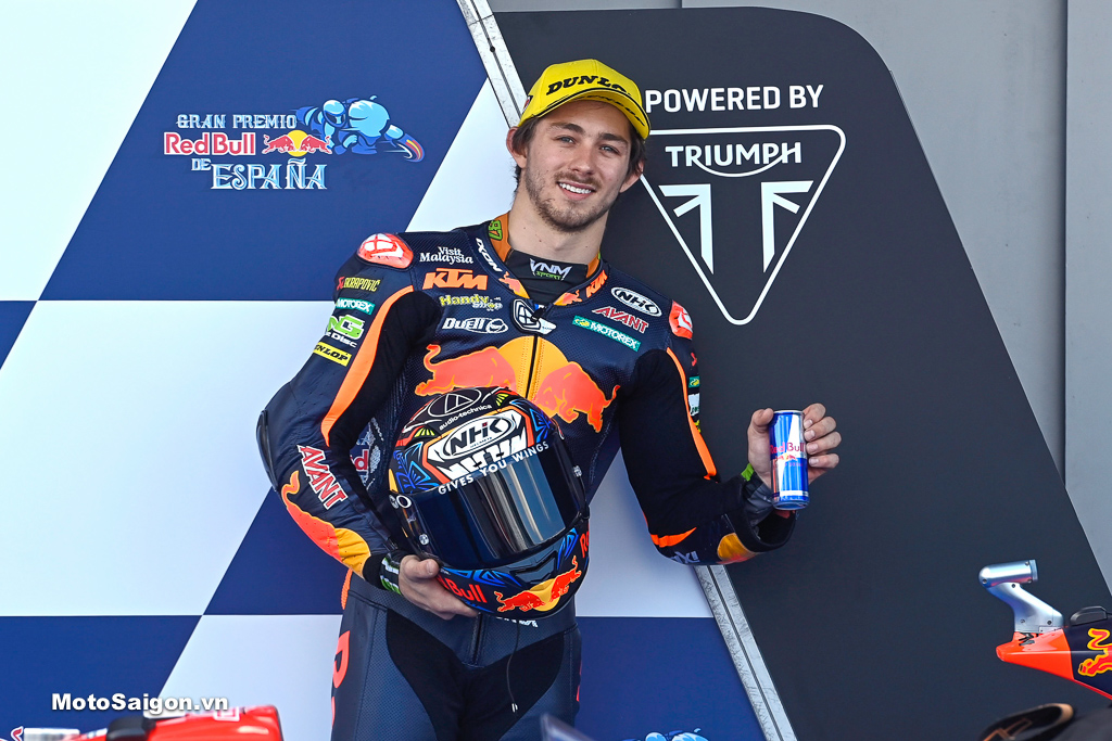 Remy Gardner, Moto2, Spanish MotoGP, 1 tháng 5/2021