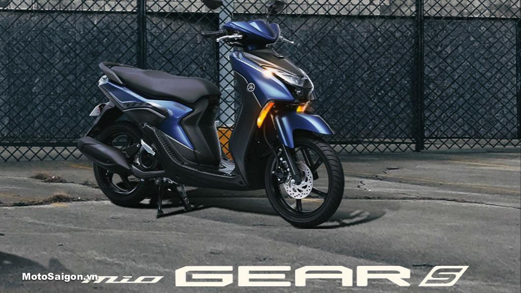 Yamaha công bố giá bán xe tay ga Mio Gear 2021