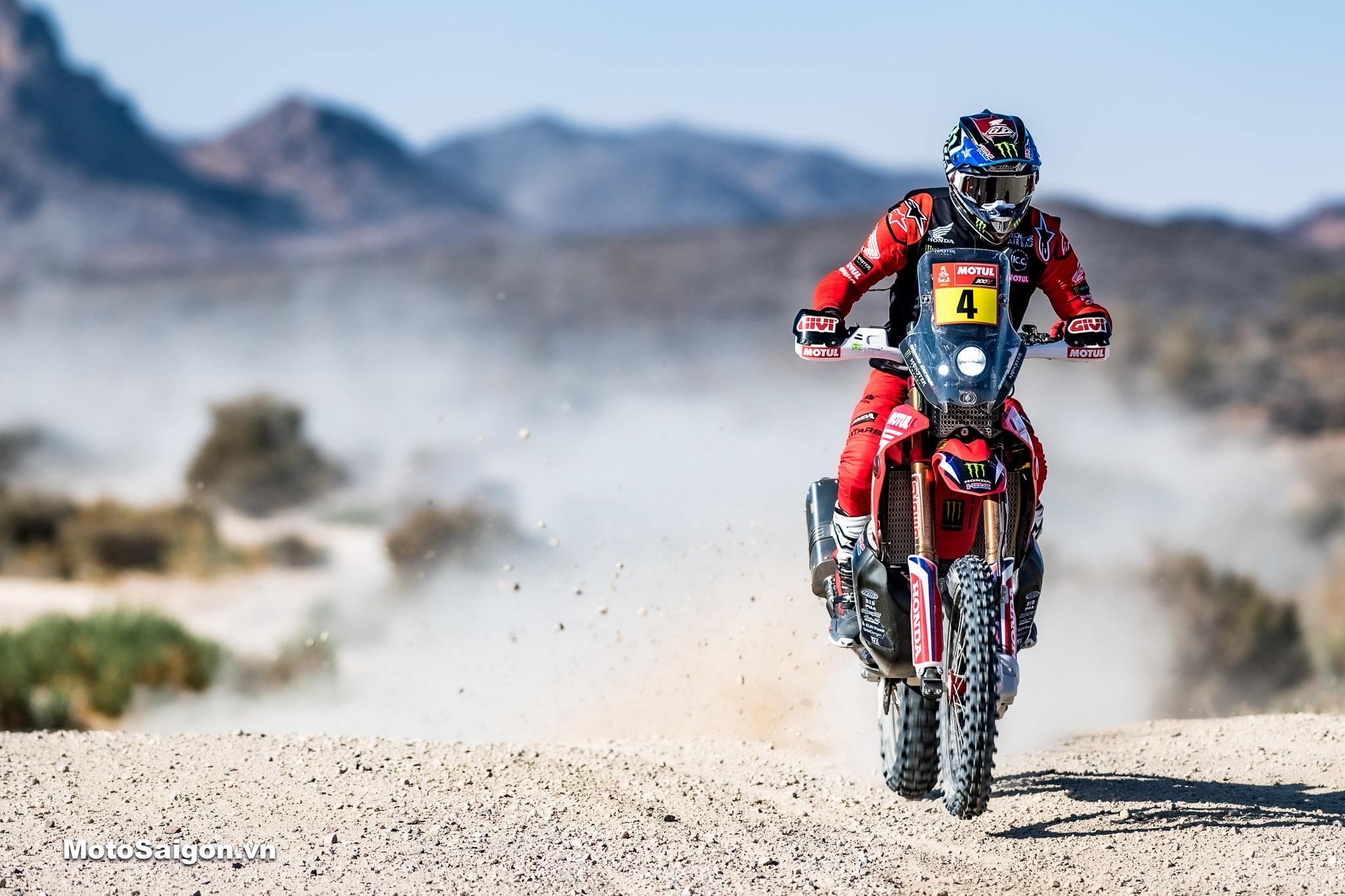Dakar Rally_HRC team tiếp tục giành chiến thắng vang dội