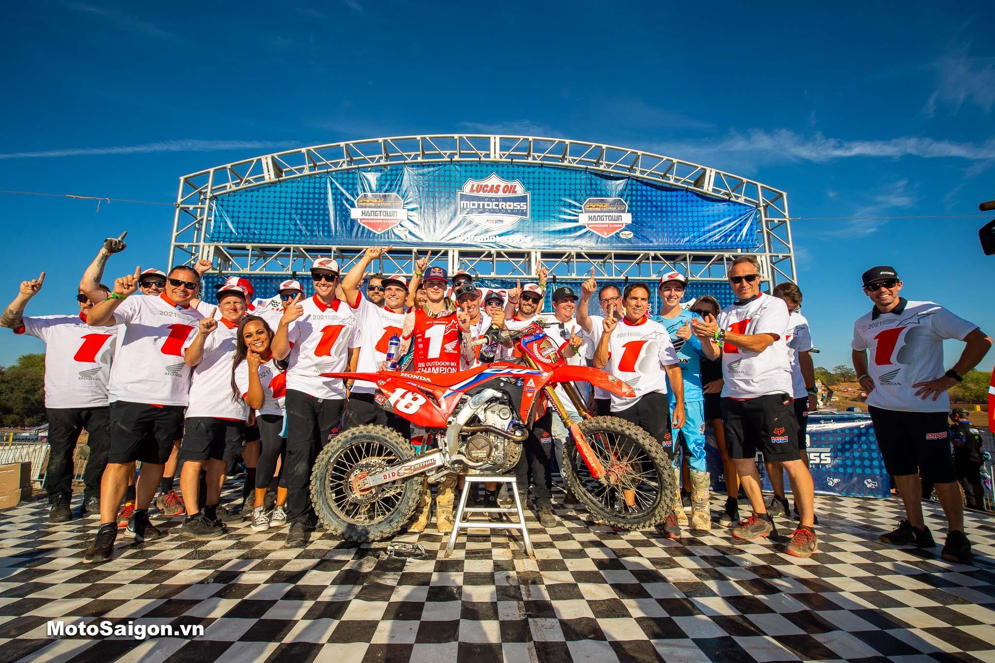 Motocross 250MX_ Team HRC vô địch mùa giải 2021