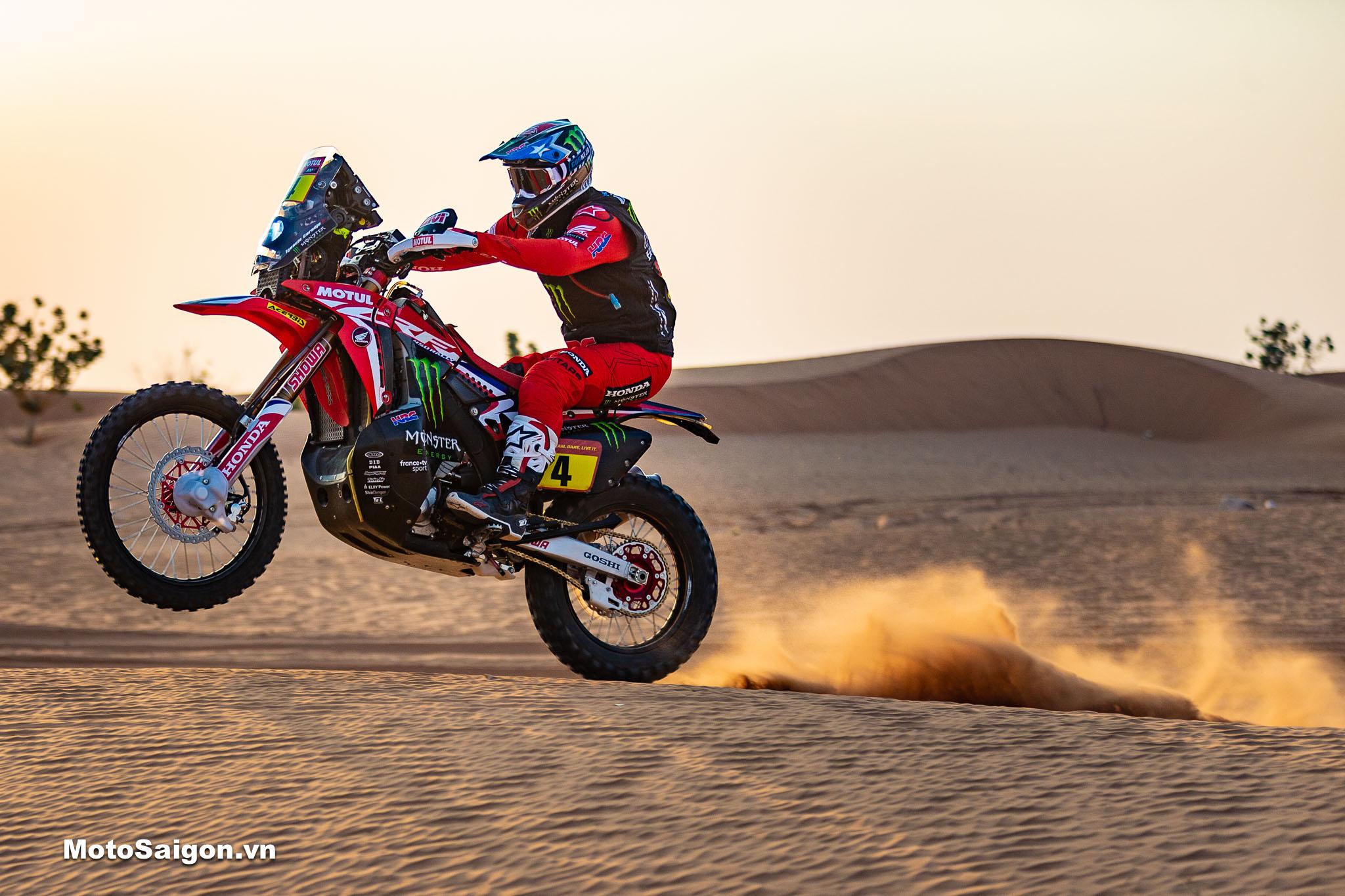 Dakar Rally_ HRC team thi đấu xuất sắc