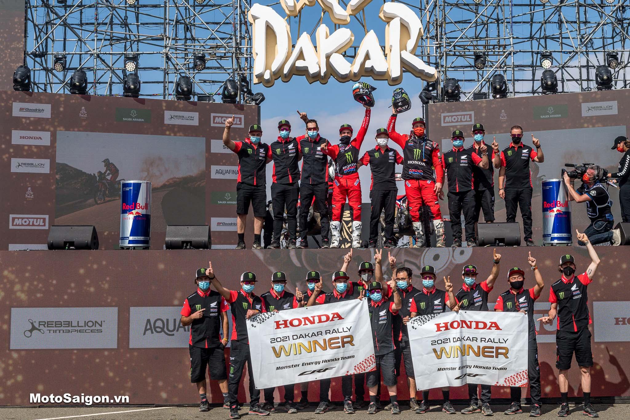 Dakar Rally_HRC vô địch mùa giải 2021
