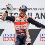 MotoGP_MM ngày càng lấy lại phong độ. tiêu biểu là vô địch MotoGP chặng 8