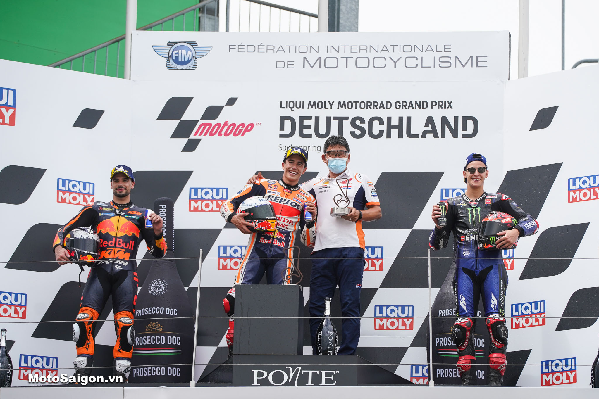 MotoGP_MM vô địch tại chặng 8 MotoGP