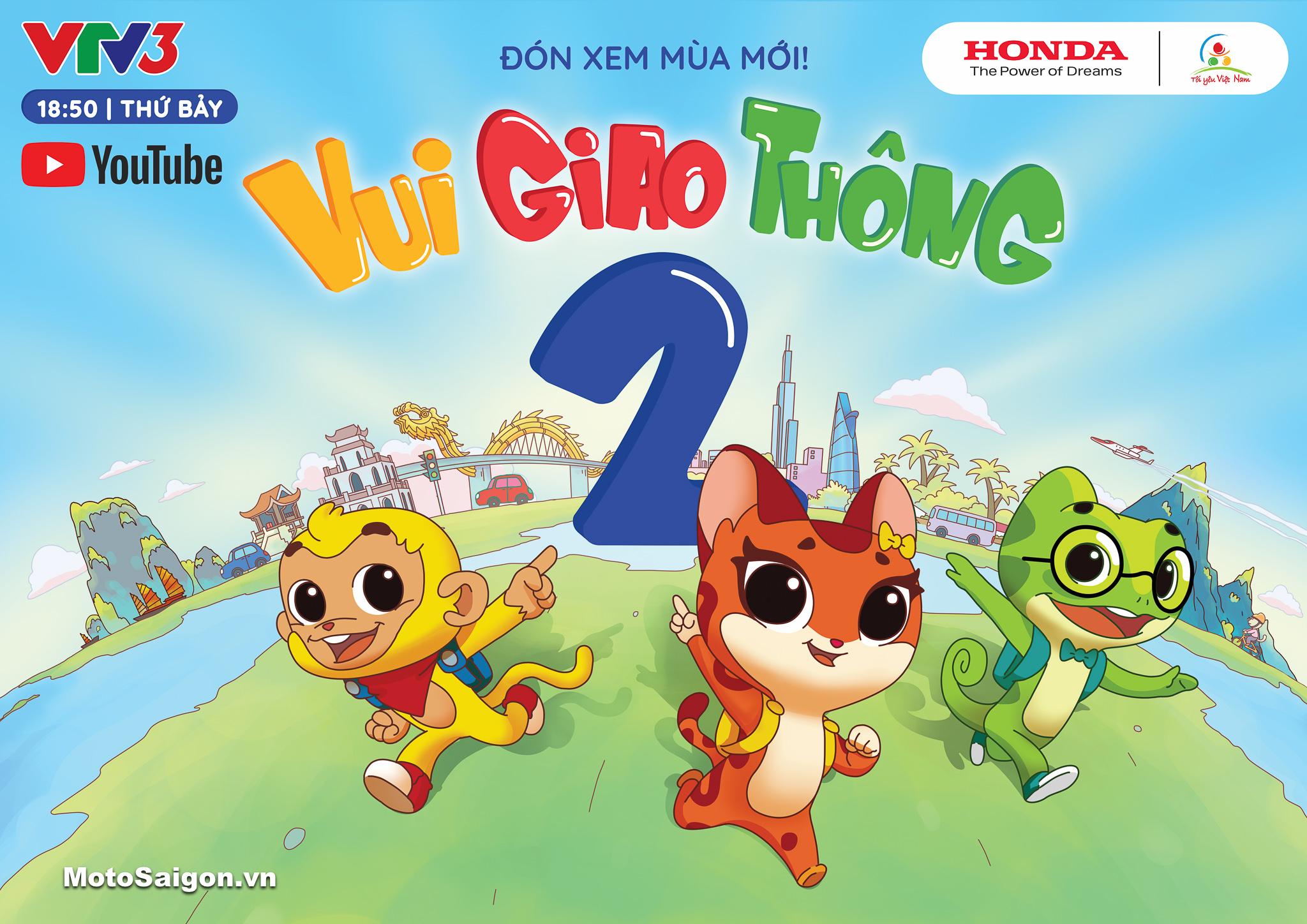 """Honda Việt Nam khởi động chương trình """"Tôi yêu Việt Nam"""" - phiên bản """"Vui giao thông"""" mùa thứ hai dành cho lứa tuổi Mầm non"""