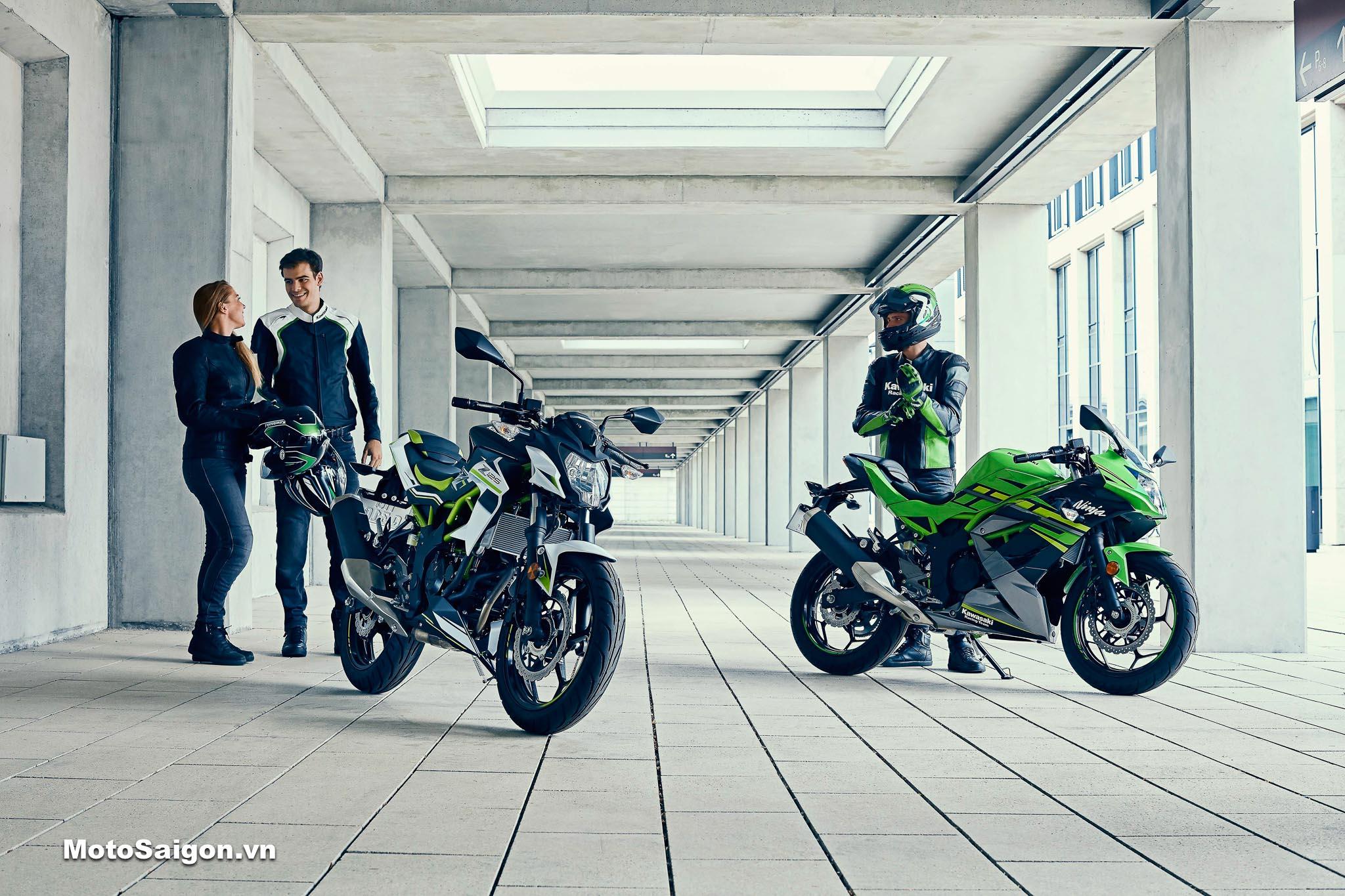 Kawasaki Ninja 125 Z125 2022 lộ diện làm tiền đề cho Ninja 150 Z150?