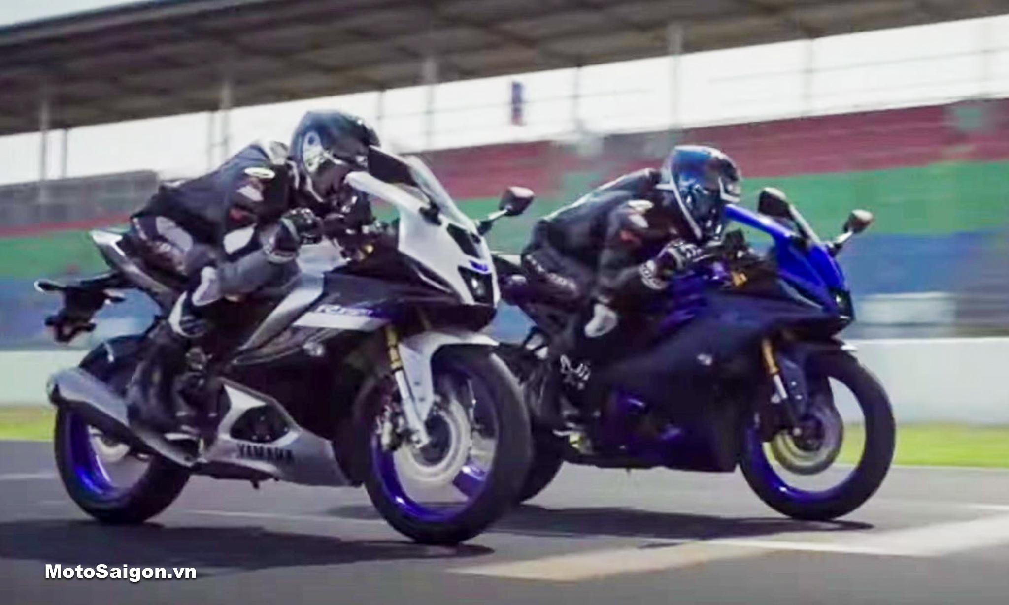 Yamaha R15 v4 R15M lộ ảnh trước giờ G có ABS kèm Quickshifter