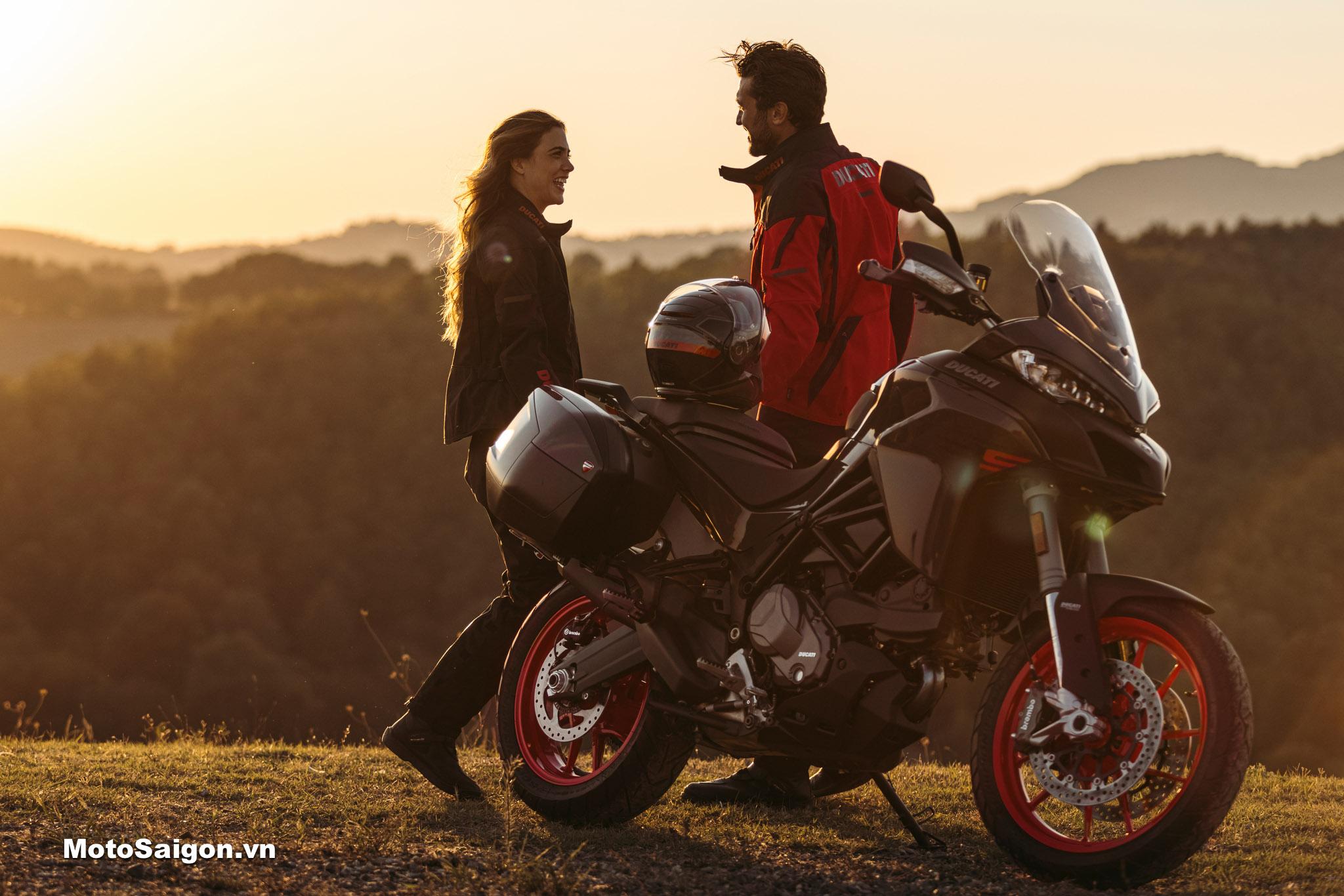 Ducati Multistrada V2 V2S đàn em của Multistrada V4 chính thức ra mắt