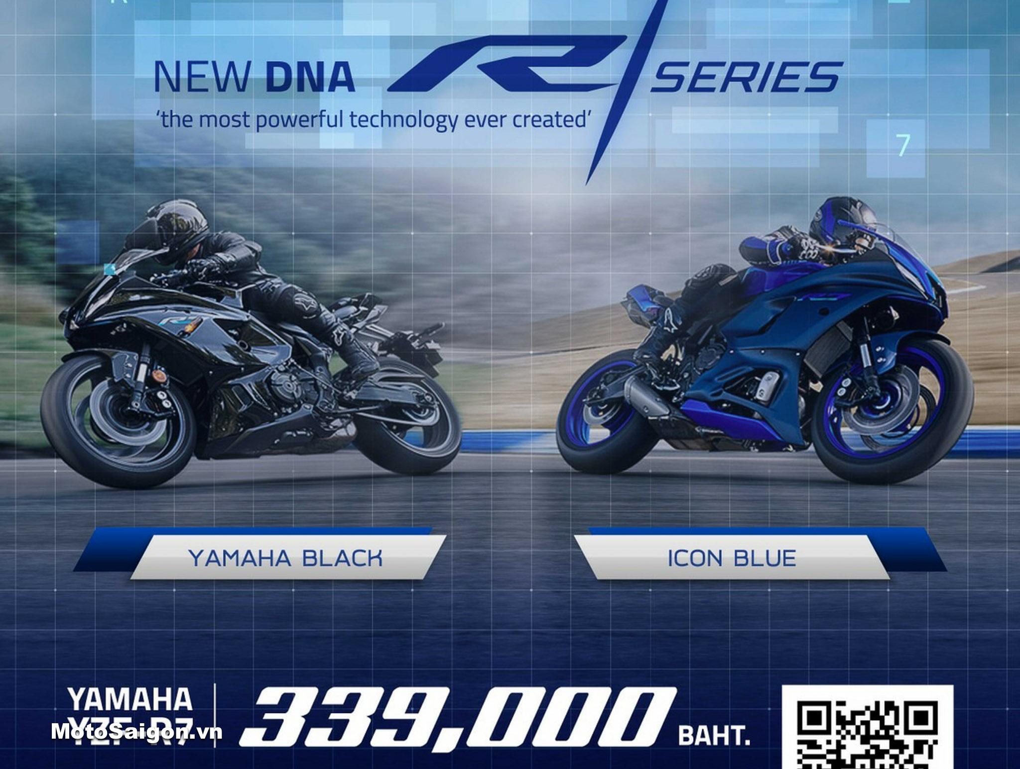 Giá xe Yamaha R7 đã được công bố tại Thái Lan