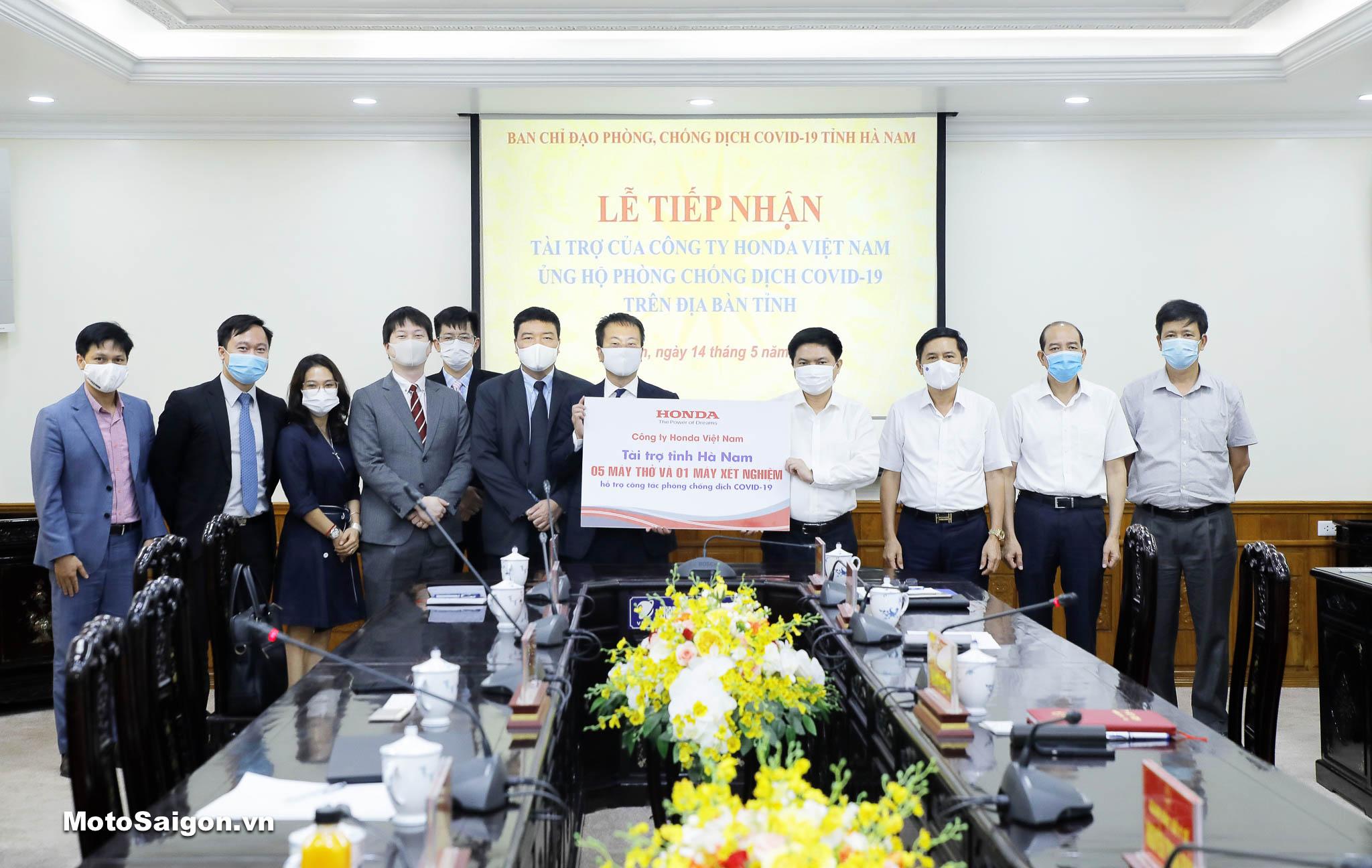 HVN ủng hộ phòng chống dịch COVID-19 tại tỉnh Hà Nam