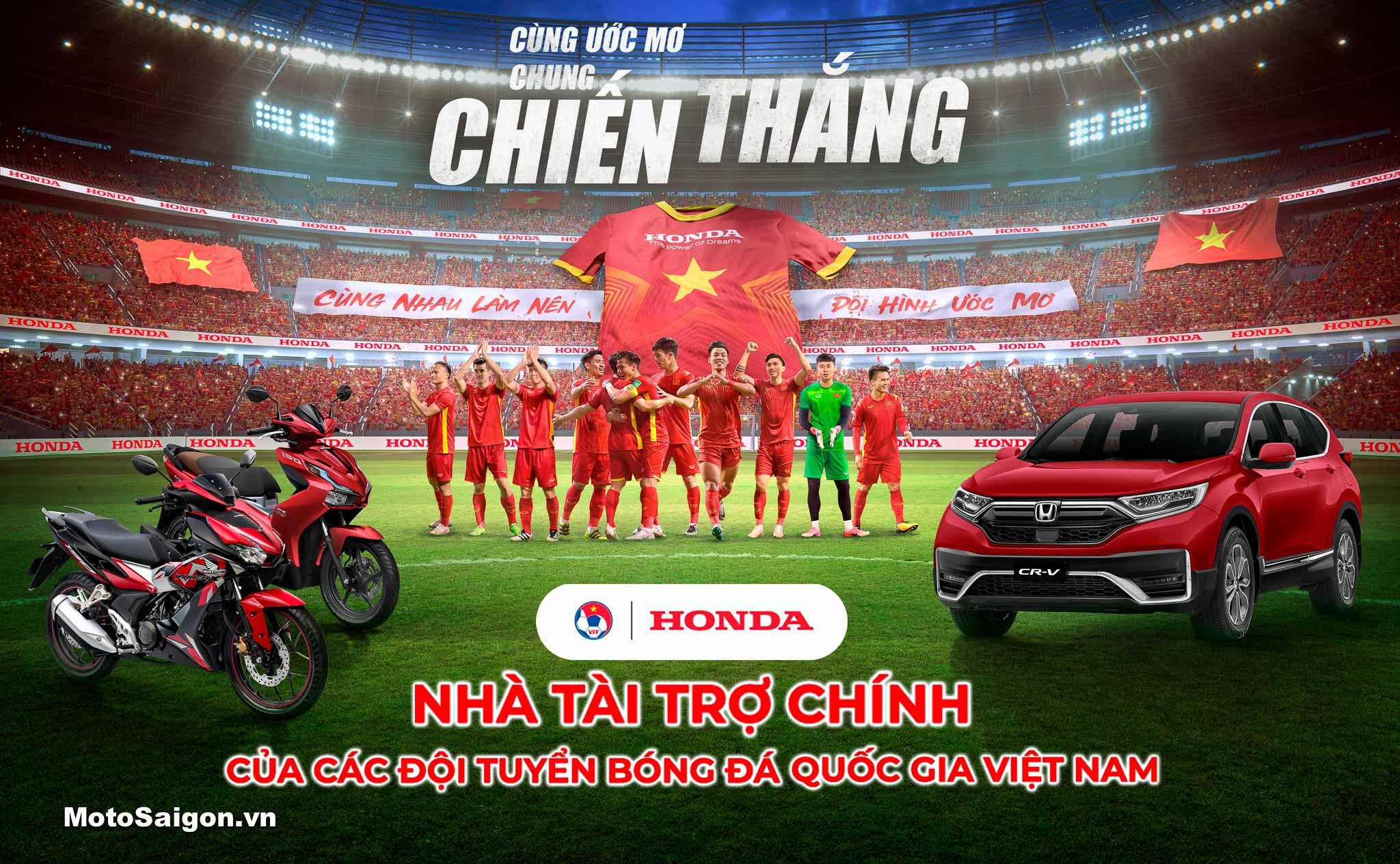 HVN tiếp tục là nhà tài trợ chính các đội tuyển bóng đá quốc gia Việt Nam
