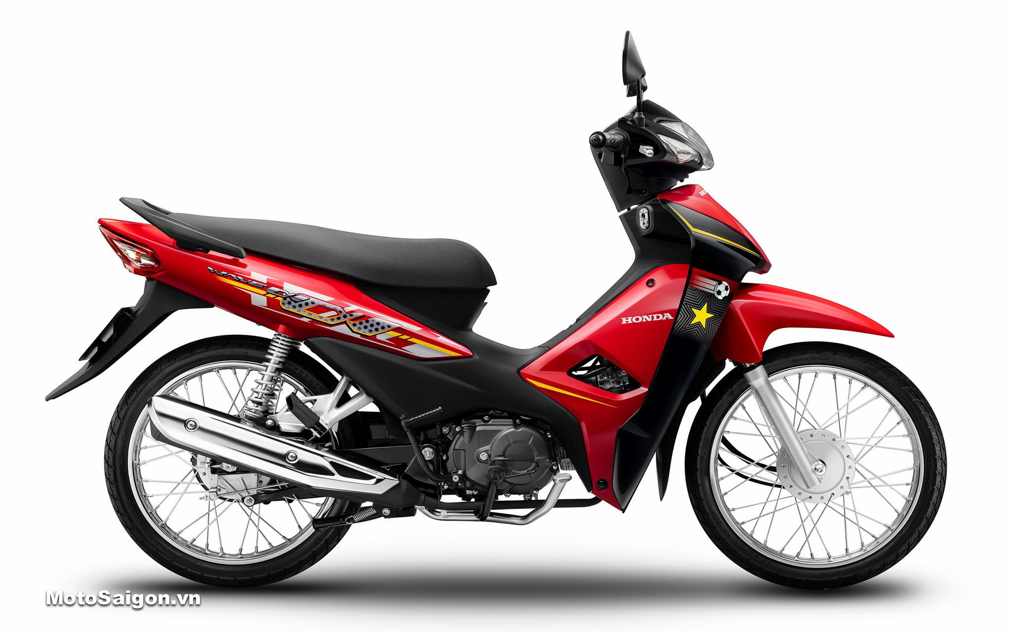 Honda Wave Alpha 110 phiên bản giới hạn mới đã có giá bán