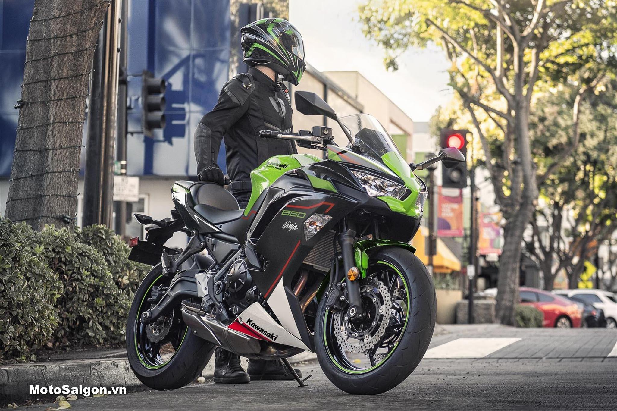 Ninja 650 2022 chính thức được Kawasaki ra mắt với 4 gói độ đáng giá