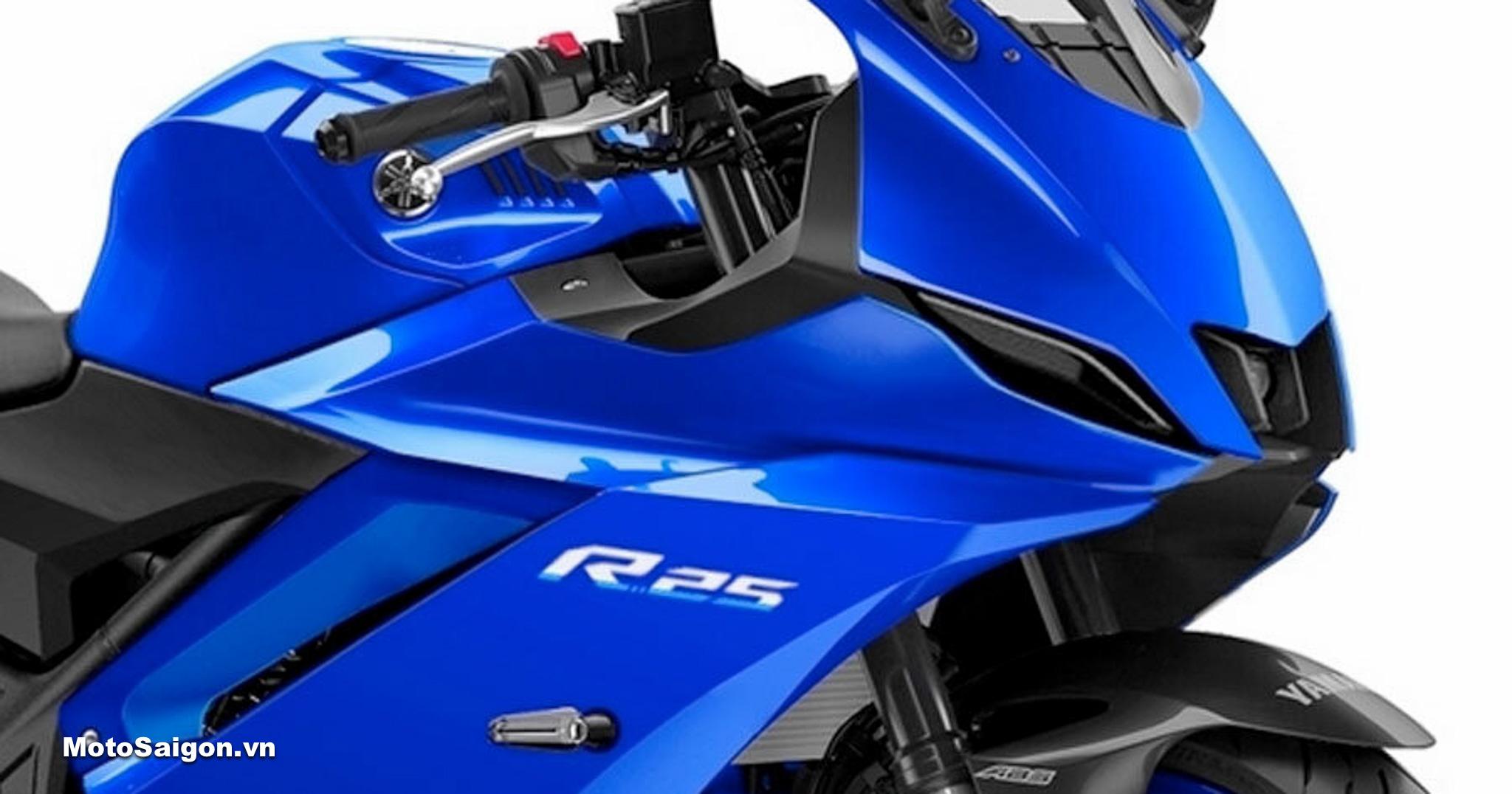 Yamaha R3 2022 tương tự R15 v4 sẽ có thiết kế mới giống R7