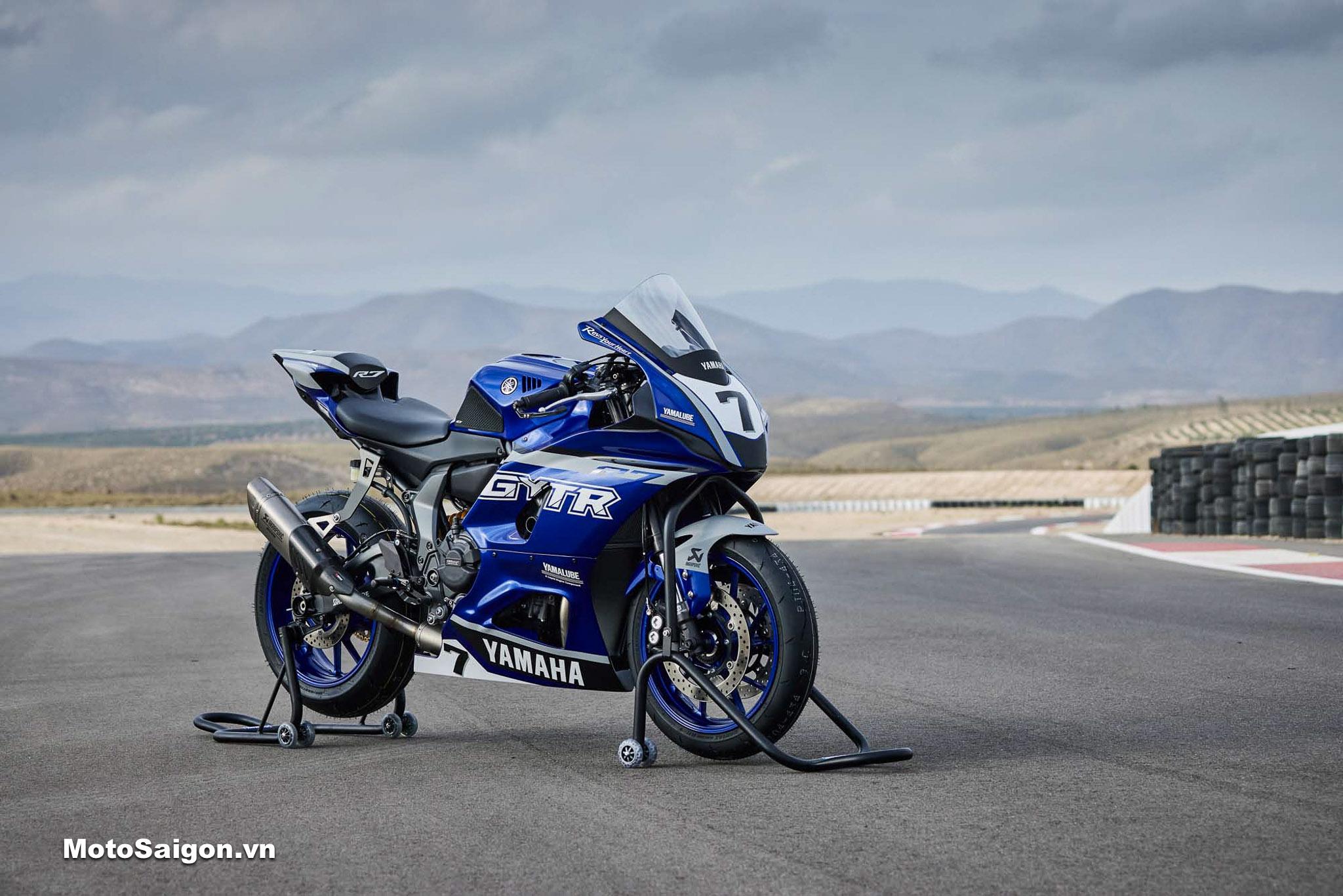 Yamaha R7 GYTR 2022 độ phụ kiện đồ chơi chính hãng cực ngầu